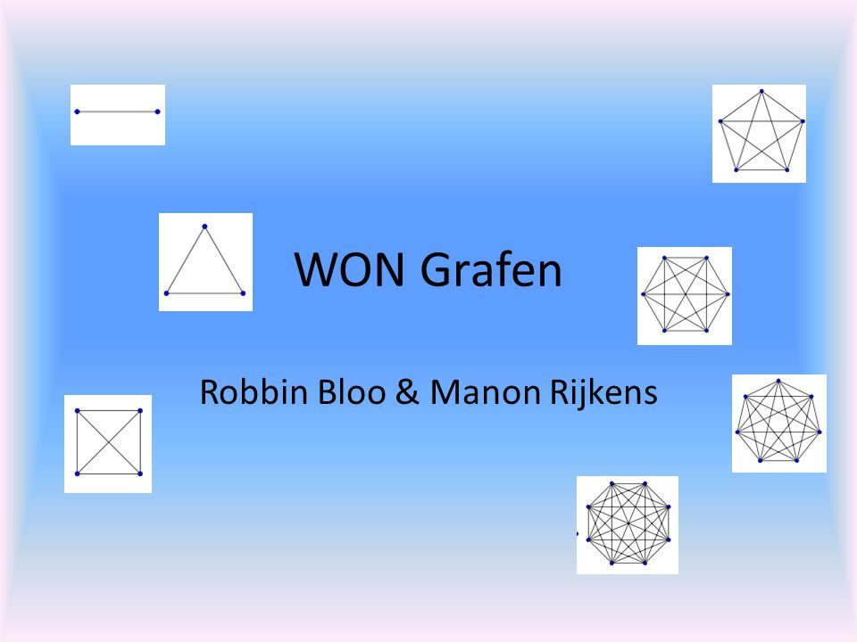 WON Grafen Robbin Bloo & Manon Rijkens