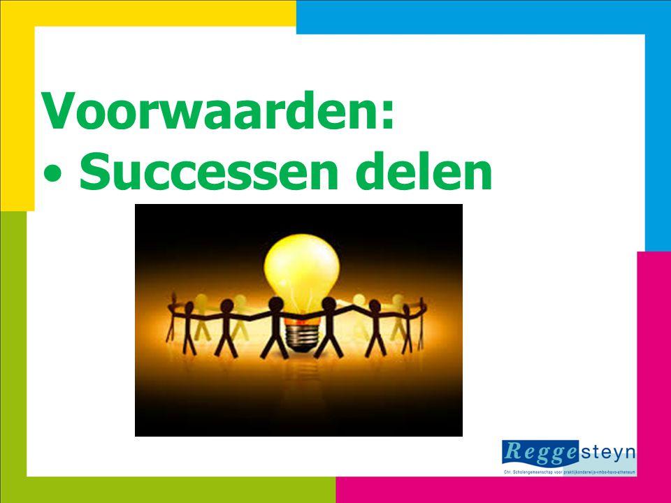 24-3-20156 Voorwaarden: Successen delen