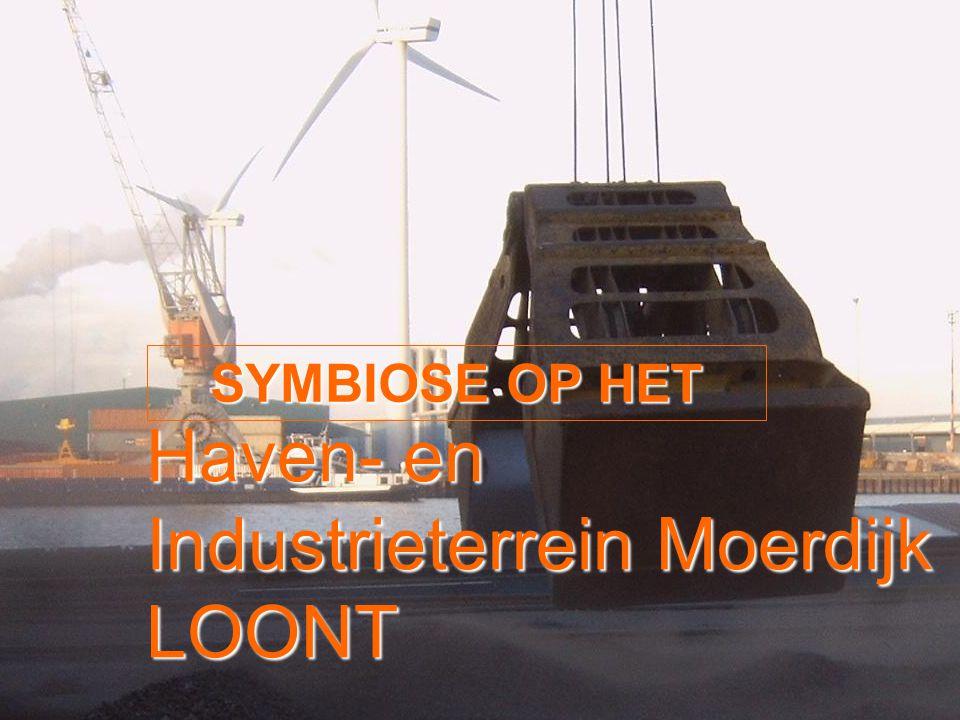 SYMBIOSE OP HET Haven- en Industrieterrein Moerdijk LOONT