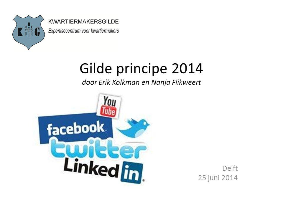 Gilde principe 2014 door Erik Kolkman en Nanja Flikweert Delft 25 juni 2014