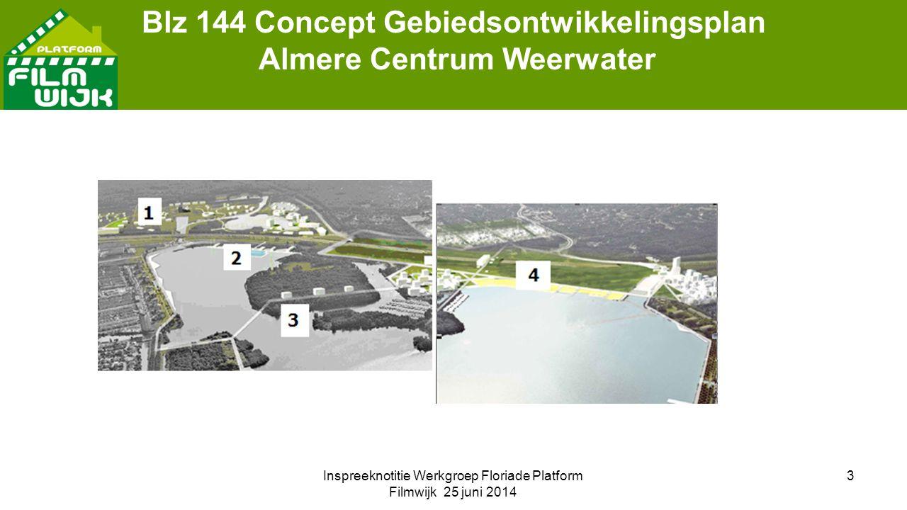 3 Blz 144 Concept Gebiedsontwikkelingsplan Almere Centrum Weerwater