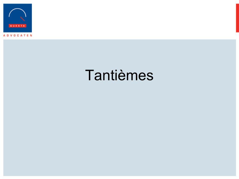 Tantièmes