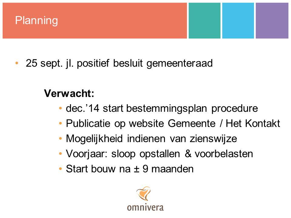 Planning 25 sept. jl.