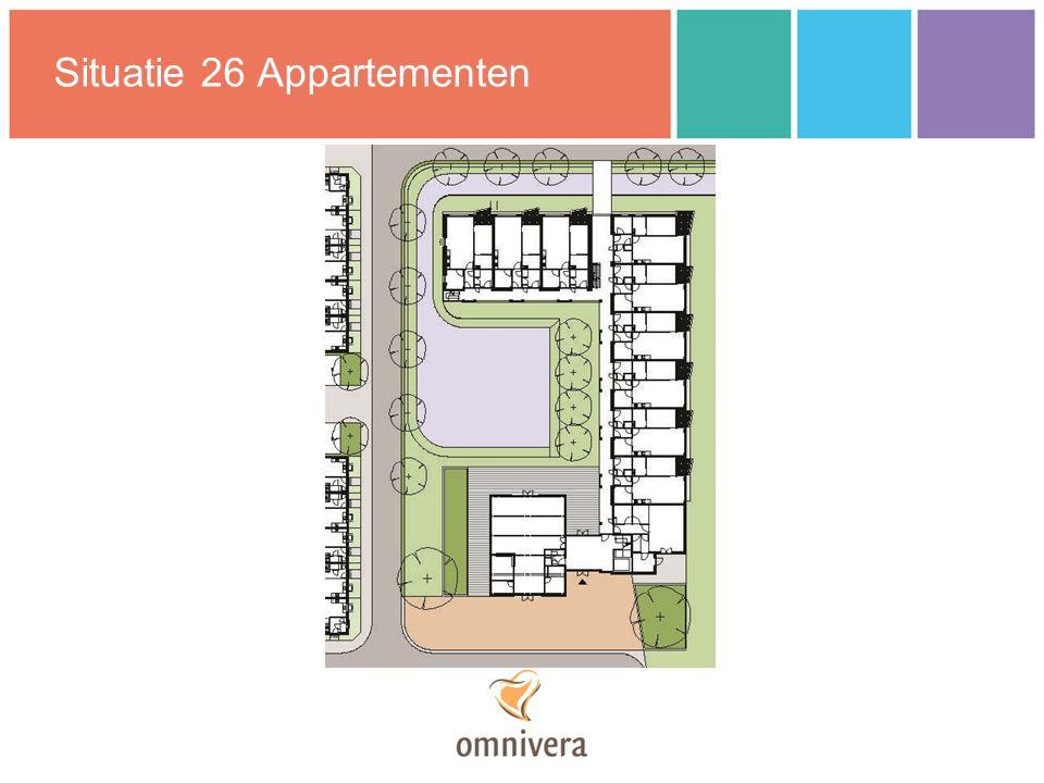 Situatie 26 Appartementen