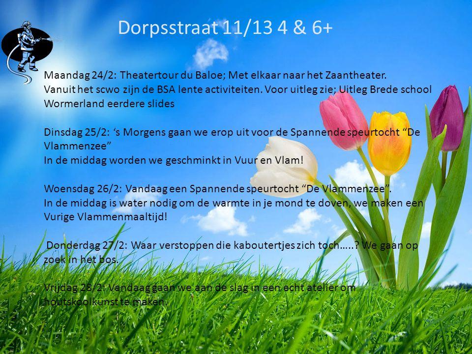 BSO De Spil 4 & 6+ Maandag 24/2: Vandaag sport en spel in het heetst van de strijd!.