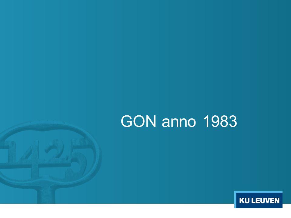 GON anno 1983