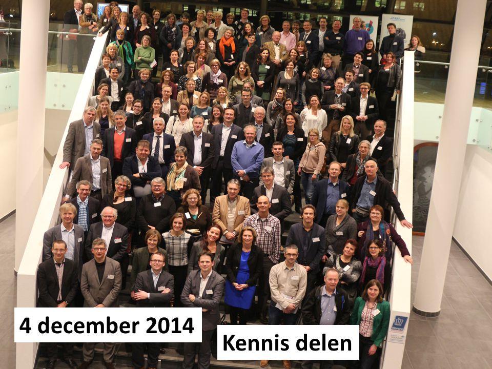 4 december 2014 Kennis delen