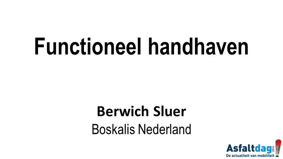 Functioneel handhaven Berwich Sluer Boskalis Nederland