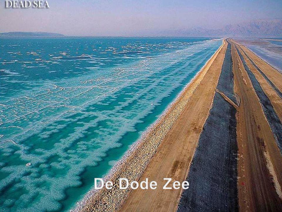 .......is het laagst gelegen meer ter wereld, bijna 420 meter onder zeeniveau.....