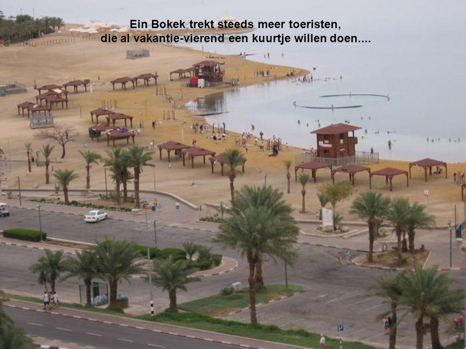 Ein Bokek trekt steeds meer toeristen, die al vakantie-vierend een kuurtje willen doen....