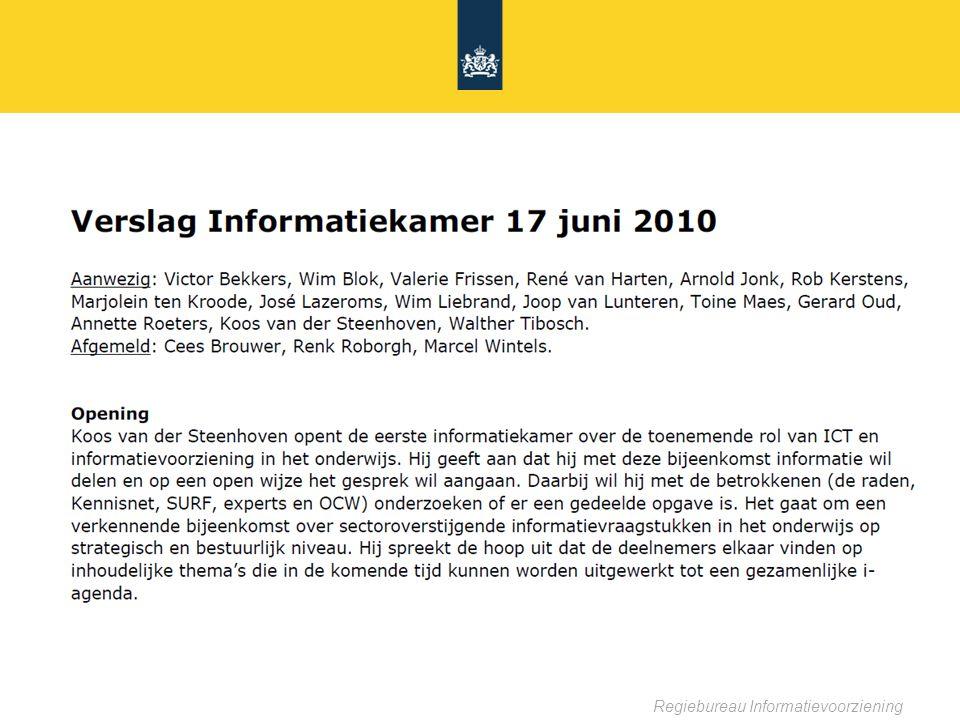 Regiebureau Informatievoorziening