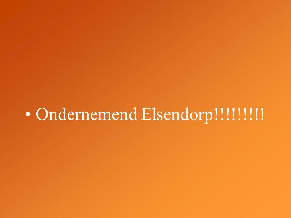 Ondernemend Elsendorp!!!!!!!!!