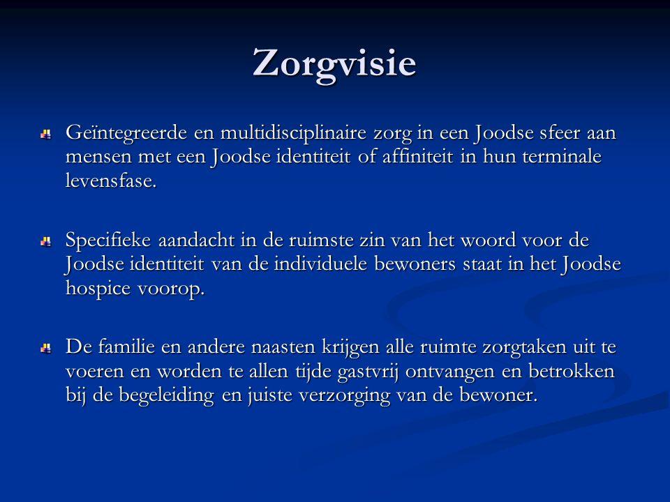 Zorg en nazorg familie Zorg De zorg in het hospice strekt zich ook uit tot de familie en naasten.