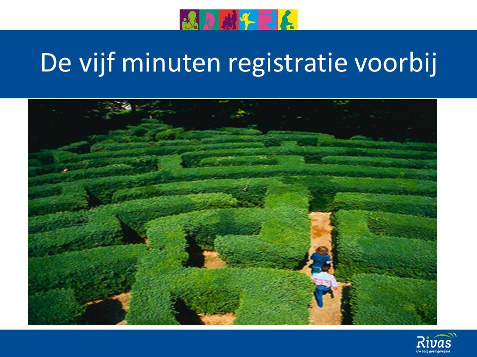 De vijf minuten registratie voorbij 22 maart 2010