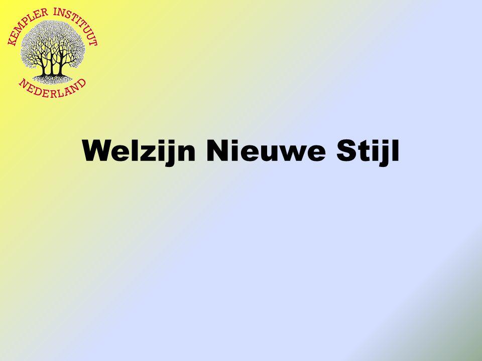 Welzijn Nieuwe Stijl