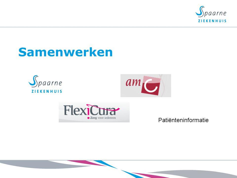 Samenwerken Patiënteninformatie