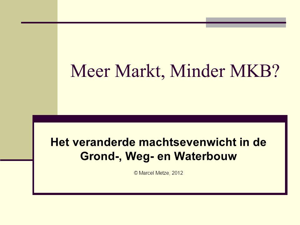 Meer Markt, Minder MKB.
