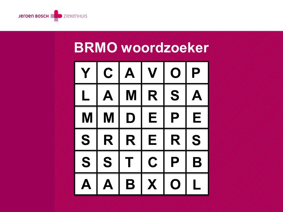 LA-MRSA project JBZ/Bernhoven start maart 2014