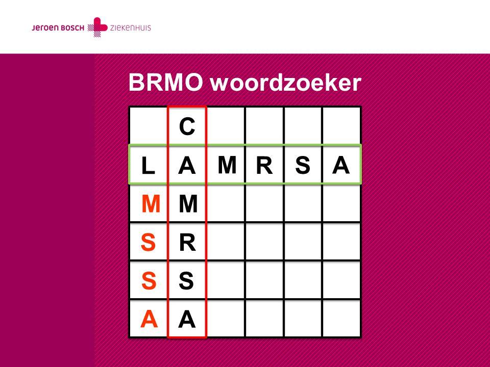 LA-MRSA project JBZ/Bernhoven