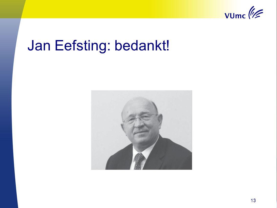 Jan Eefsting: bedankt! 13