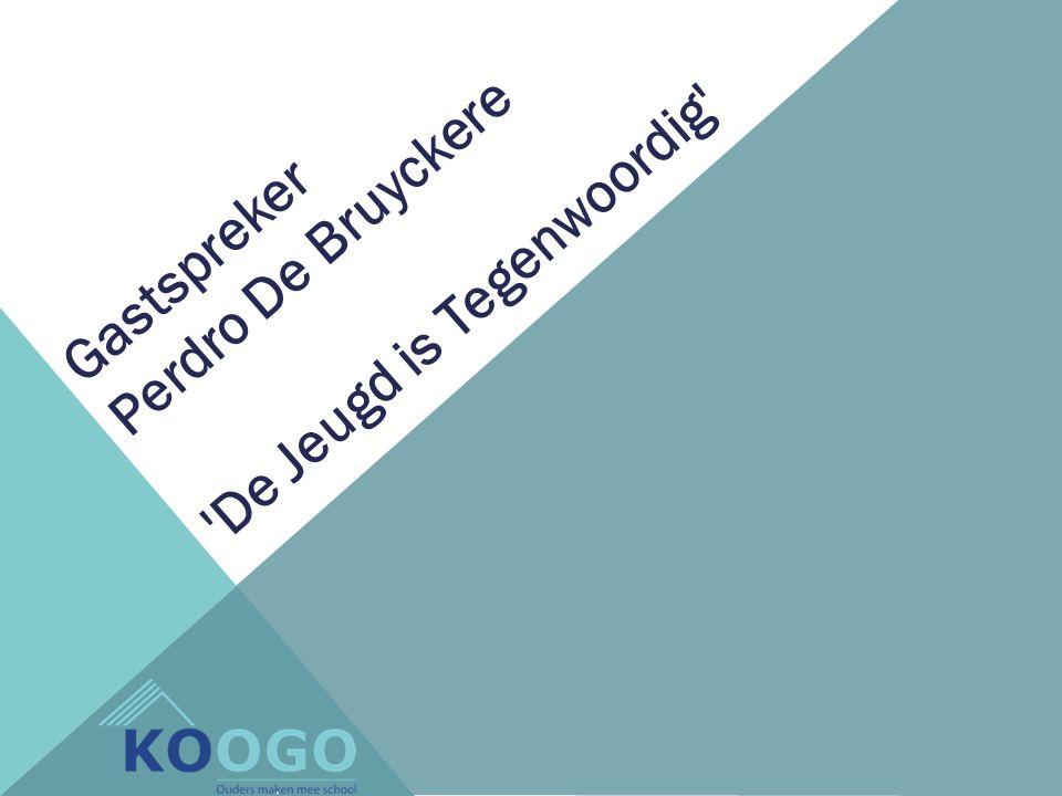 Gastspreker Perdro De Bruyckere De Jeugd is Tegenwoordig