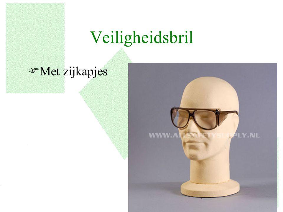 Veiligheidsbril FMet zijkapjes 7