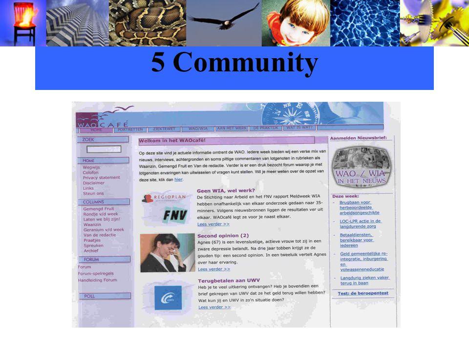 5 Community
