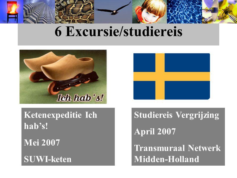 6 Excursie/studiereis Ketenexpeditie Ich hab's.