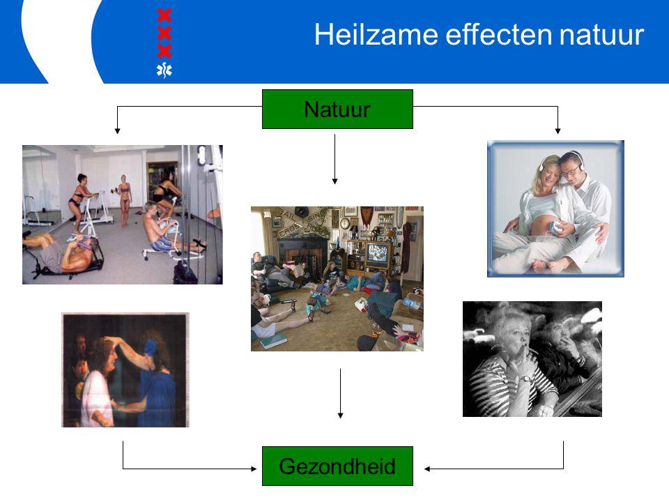 Natuur Gezondheid Heilzame effecten natuur