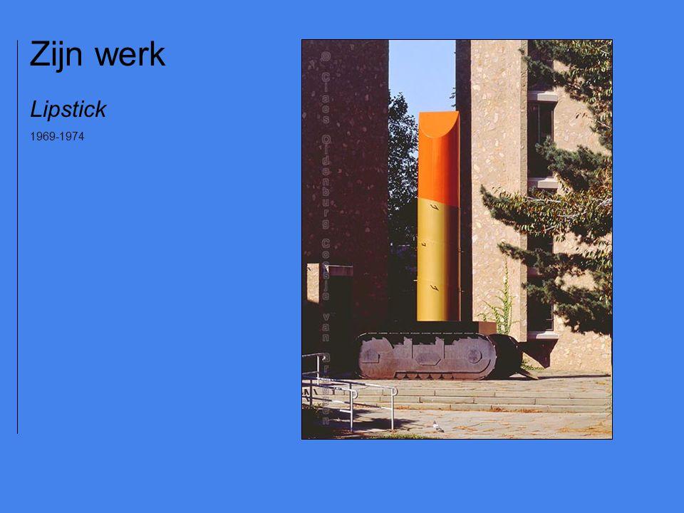 Lipstick 1969-1974 Zijn werk