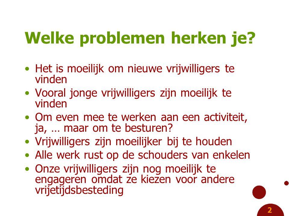 2 Welke problemen herken je.