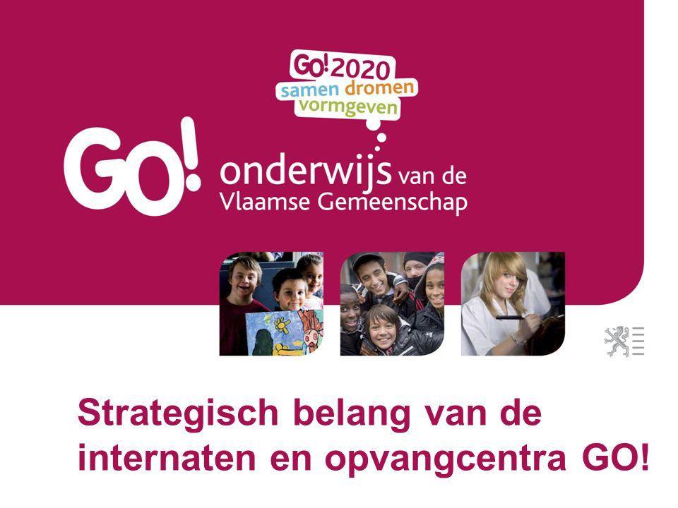 Een onderzoek naar het strategisch belang van de internaten In het kader van GO!2020 werd het project Een visie op het GO.