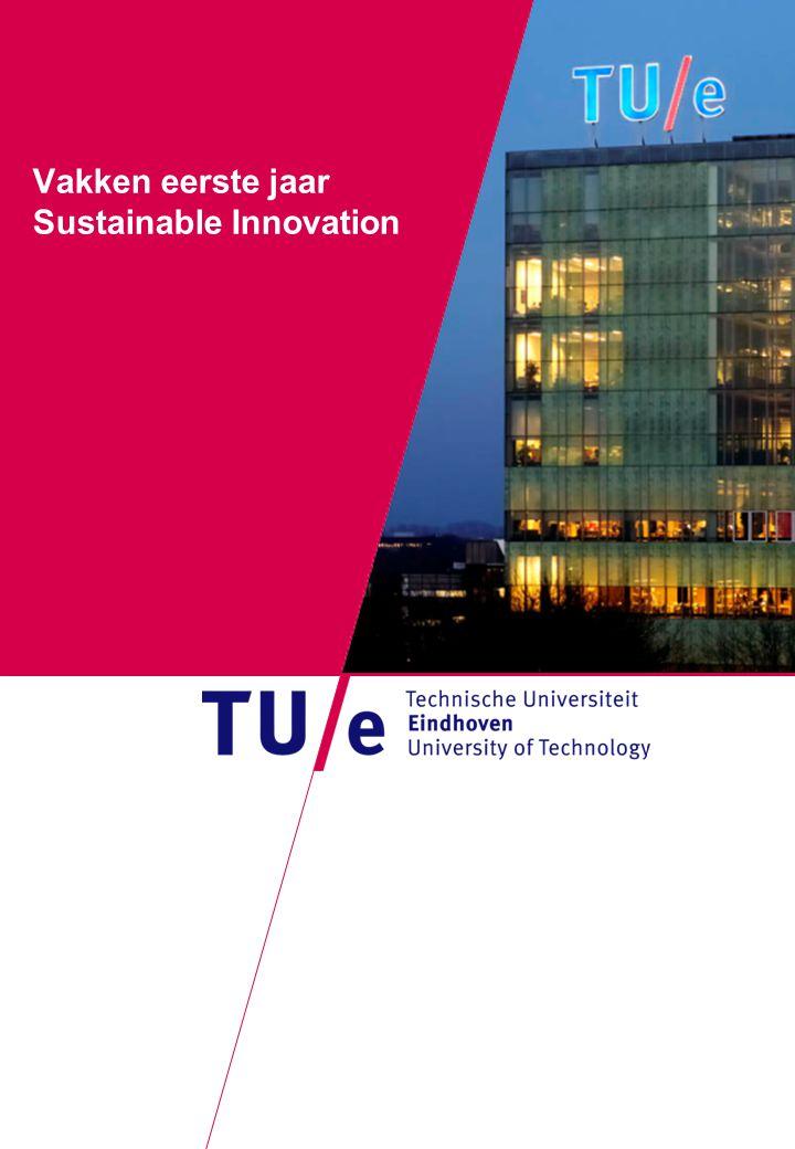Where innovation starts Vakken eerste jaar Sustainable Innovation