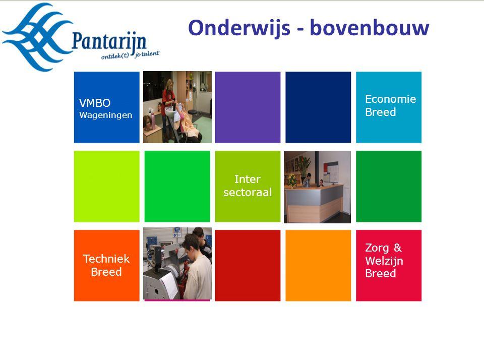 Zorg & Welzijn Breed Techniek Breed Economie Breed Inter sectoraal VMBO Wageningen Onderwijs - bovenbouw