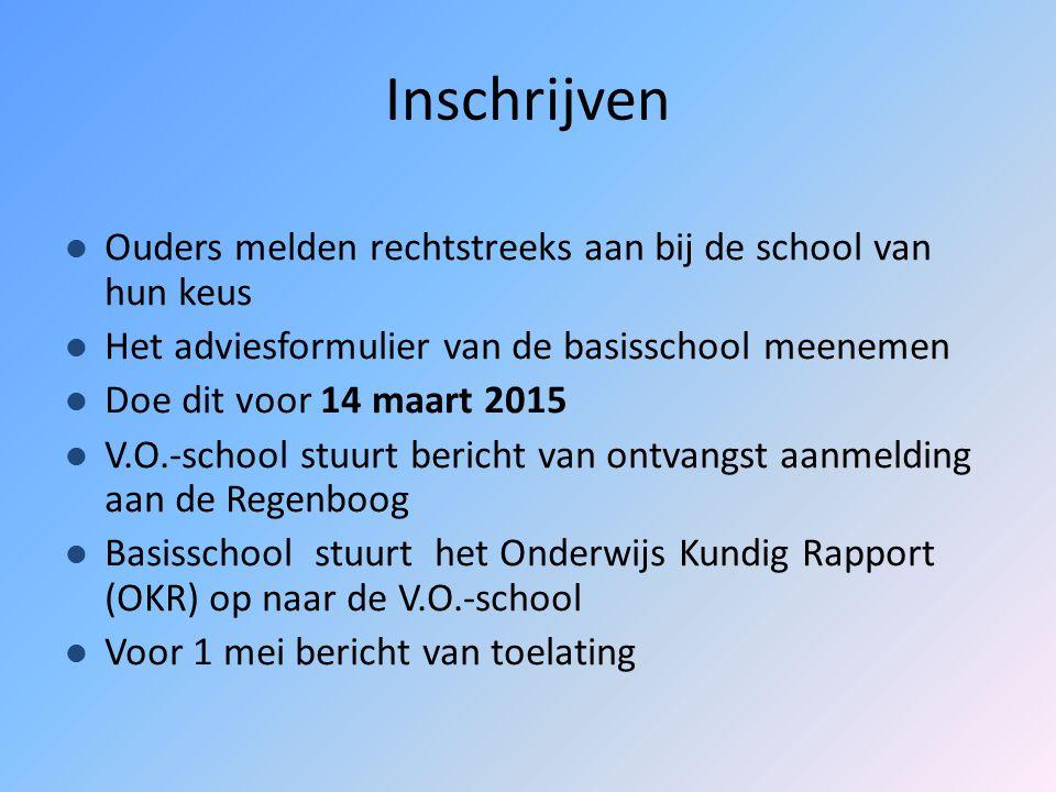Hoe komt u tot een keuze? Voorlichting Informatie uit de Rotterdamse V.O.- Gids 2015 Digitale V.O.-Gids: www.koersvo.schoolprofielen.nlwww.koersvo.sch