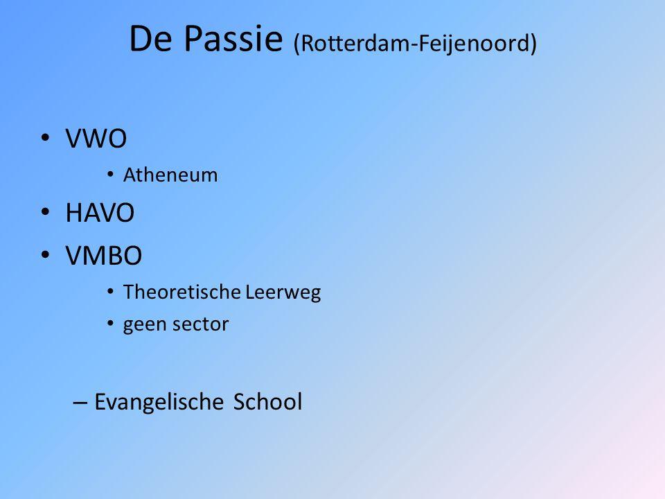 Gemini College (Ridderkerk) Gemini Lyceum: VWO en HAVO Gemini (H)TL: VMBO Theoretische Leerweg Vakcolleges (4 jaar VMBO + 2 jaar MBO): VMBO B/K: secto