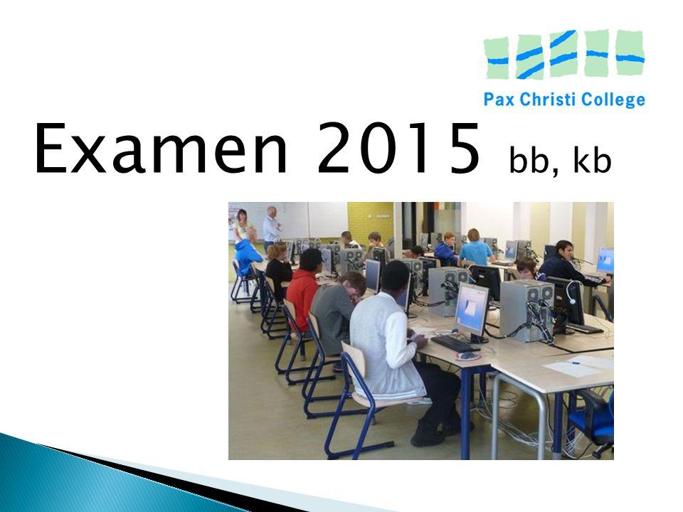 Examen 2015 bb, kb