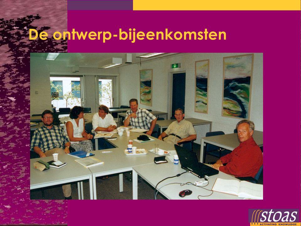 De ontwerp-bijeenkomsten
