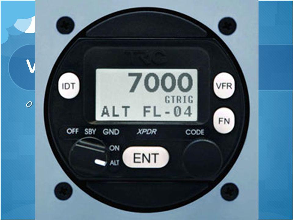 Transponder - Het woord transponder komt van de woorden: transmitter (zender) en responder (antwoorder).