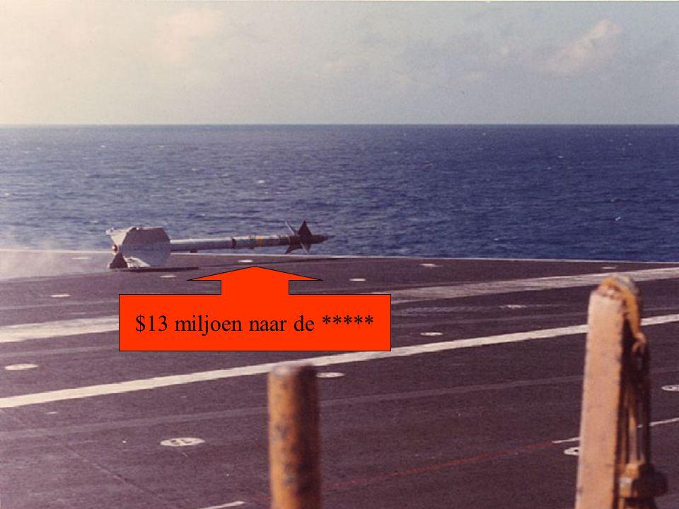 $13 miljoen naar de *****