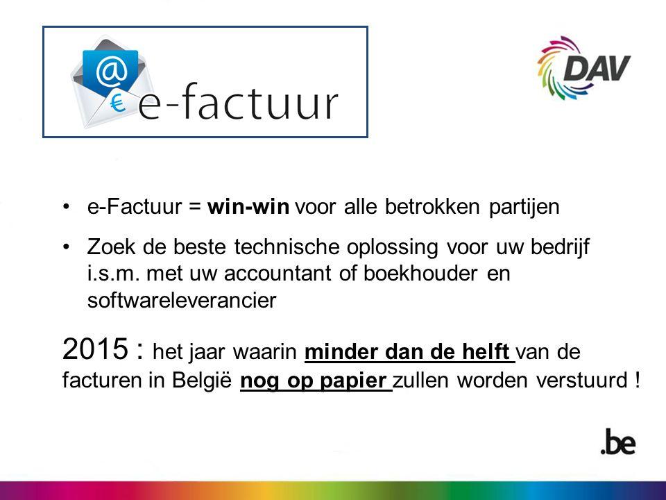 Erwin De Pue Directeur-generaal Dienst Administratieve Vereenvoudiging Hertogstraat 4 1000 Brussel www.efactuur.belgium.be E-mail: erwin.depue@premier.fed.be
