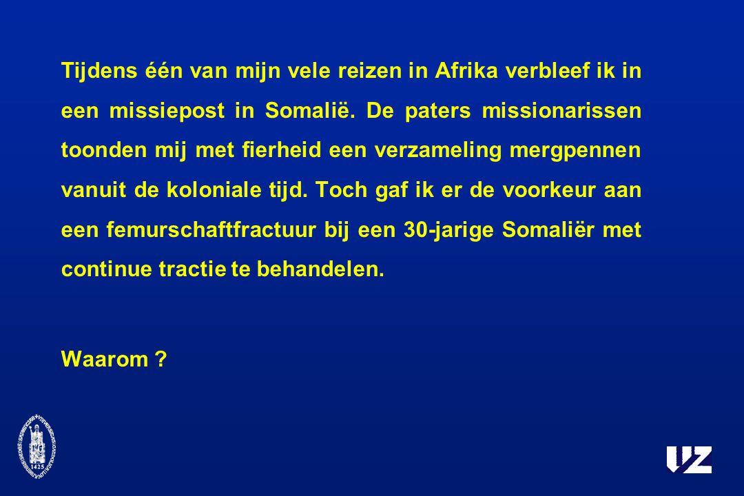 Tijdens één van mijn vele reizen in Afrika verbleef ik in een missiepost in Somalië.