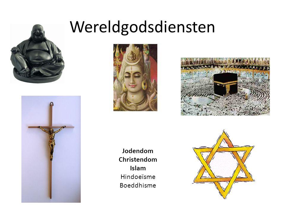 Wereldgodsdiensten Jodendom Christendom Islam Hindoeïsme Boeddhisme