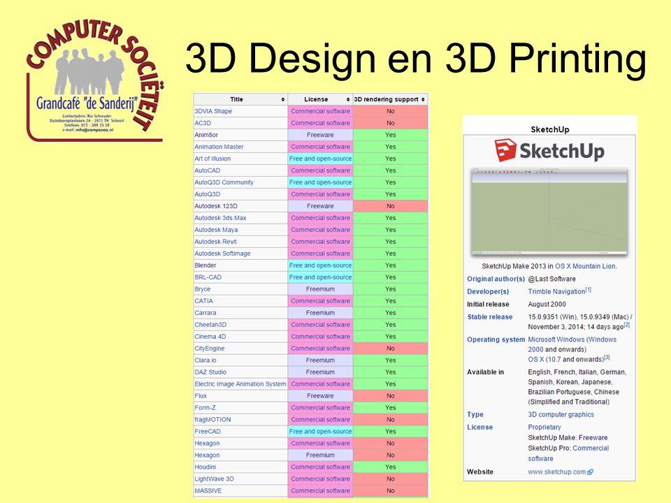 3D Design en 3D Printing