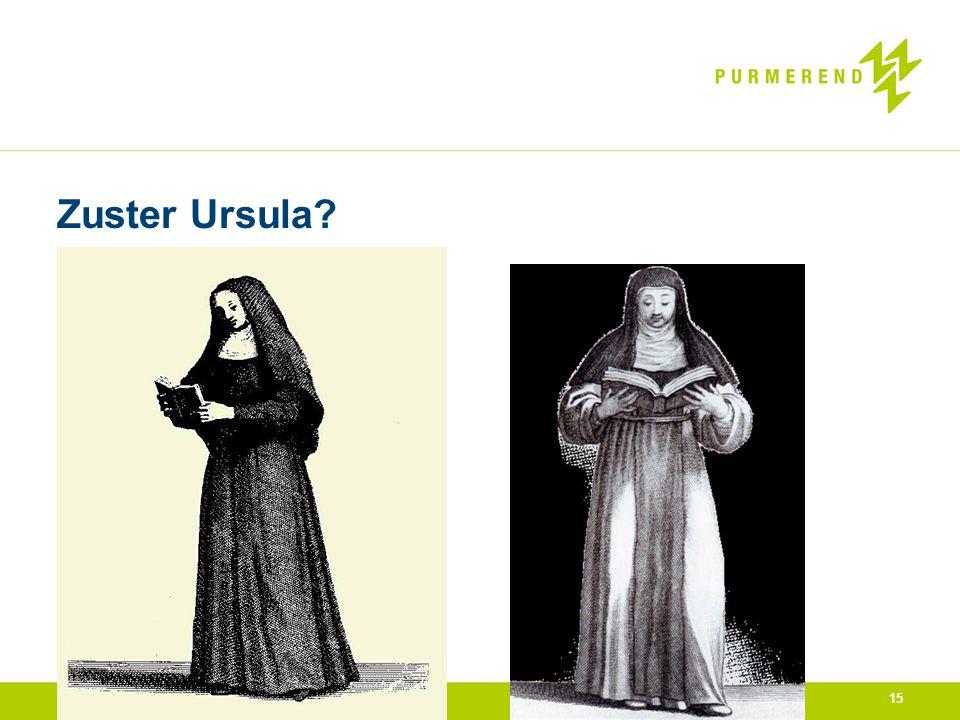 Zuster Ursula? 15