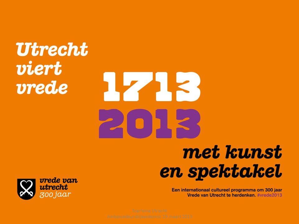 UTRECHTS ARCHIEF ERIK PLOMP Projectleider Publieksprogrammering Toerisme Utrecht Ambassadeursbijeenkomst 19 maart 2013