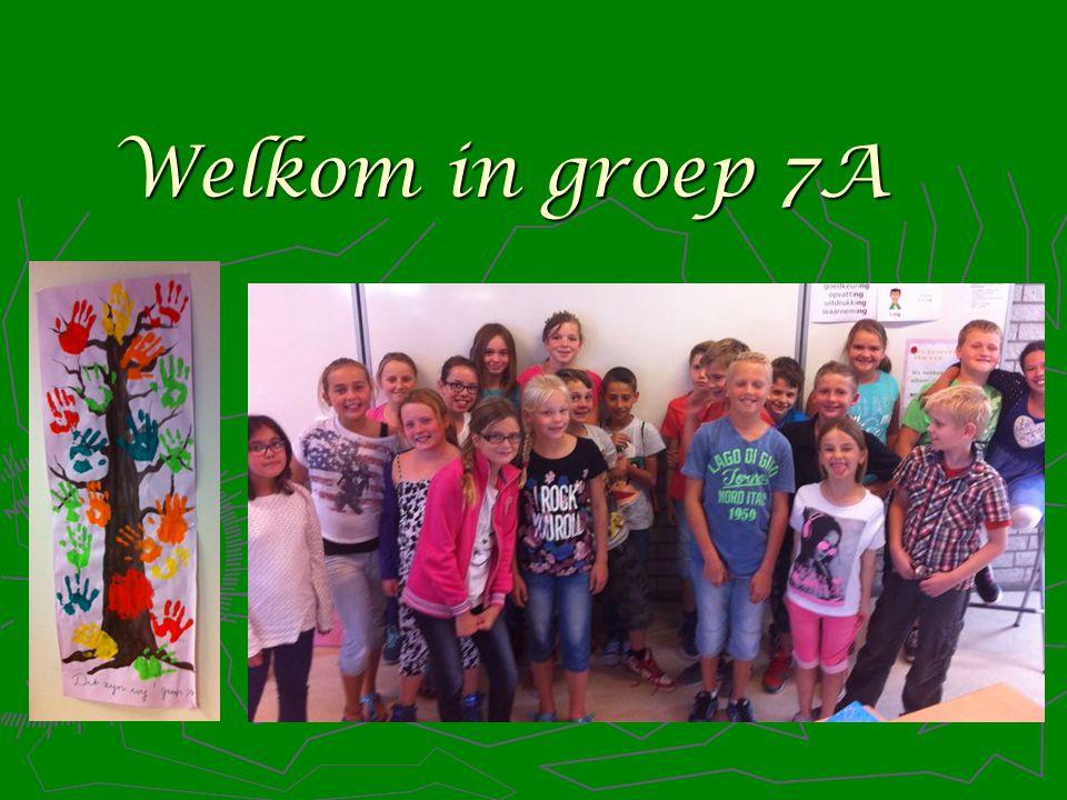 Welkom in groep 7A