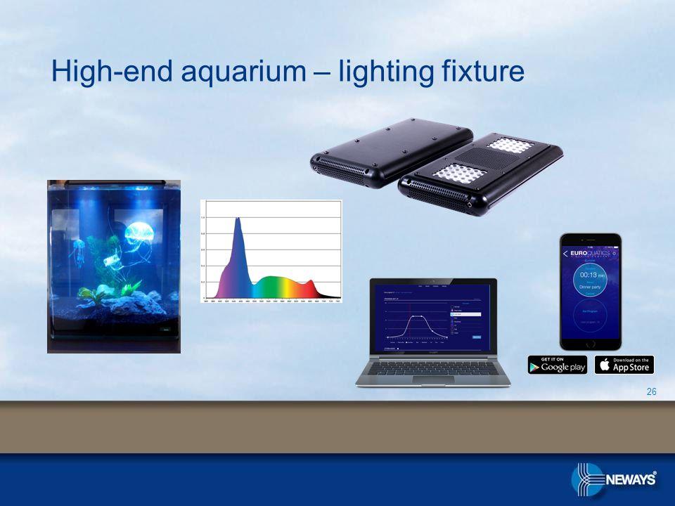 High-end aquarium – lighting fixture 26
