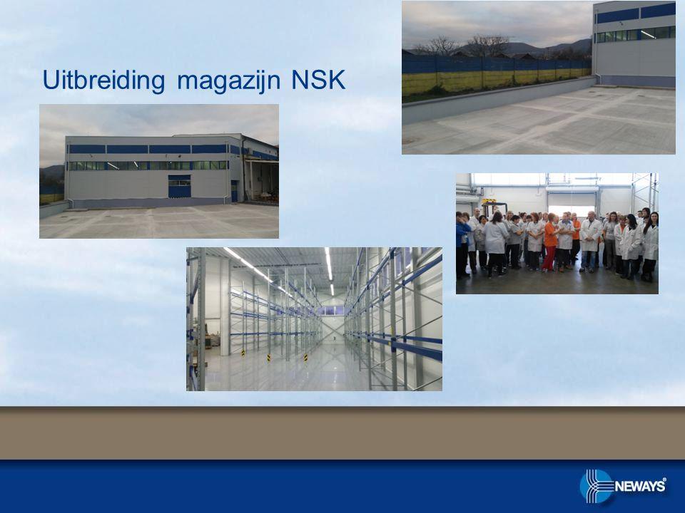 Uitbreiding magazijn NSK