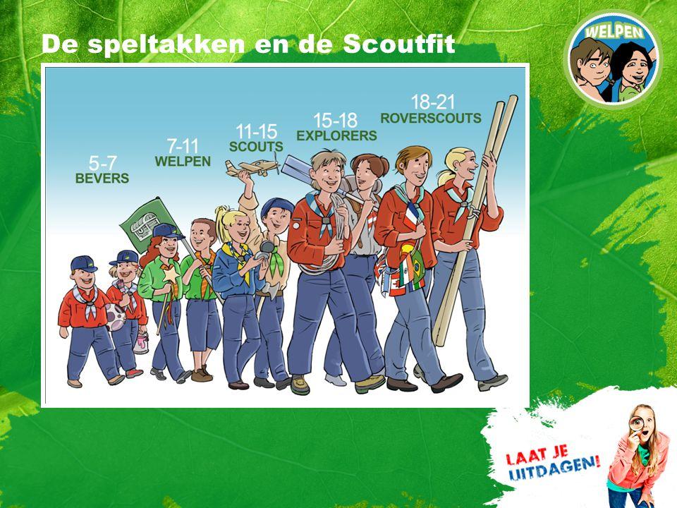 De speltakken en de Scoutfit